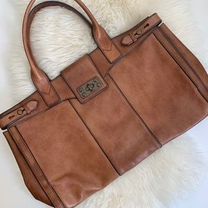 FOSSIL | Brown Leather Bag